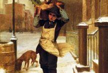 Παιδική εργασία σε πίνακες ζωγραφικης