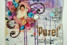 My scrapbooking and crafts / I made scrapbooking,card,mixed media etc