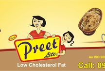 Preet Lite Low Cholesterol Fat / Preet Lite Low Cholesterol Fat is an ideal Product for Cooking, Frying, Baking and use for Paranthas, Puris, Pulao, Halwa, Khichri, and topping of Pawbhaji etc and use like deshi ghee.