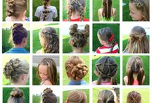 Kids(girly) hair styles