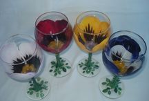 Glass painting / by Vera Harrison