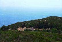Ερείπια από το Μοναστήρι του Αγίου Ανδρέα, Μεσοβούνι Βολιμών - Ζάκυνθος / Ruins of the Monastery of St. Andrew, Mesovouni Volimes - Zakynthos