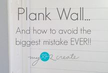 How to Plank a wall / DIY