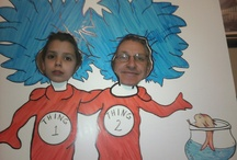 Dr. Seuss Birthday / 8th Birthday Party for my son...so much fun creating it :)
