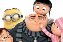 Despicable Me and Minions.