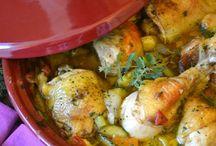 Pollo e verdure