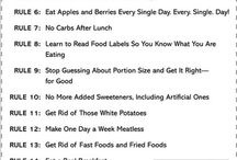 Foods to get or stay fit