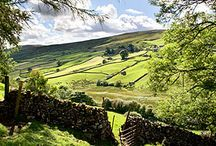 The best landscapes in Britain. / England's landscape's  the beauty of mother nature.