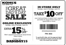 New KOHL'S coupons & other favorites  / The best coupons for the best shopping!