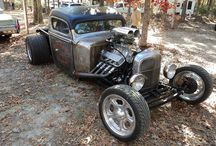 Rat rods / Where crome is a crime