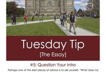 Boston College Admission Tips / by Boston College