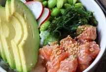 Pokebowl zalm
