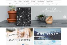 Ecommerce web inspiration