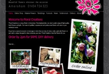 Florist Window Clients - Homepage Screenshots / This board shows screen shots of our client websites