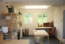 Boop Design.. A Riverside Studio in Somerset! / Images of my studio space and general goings on... people who visit or work here alongside me.