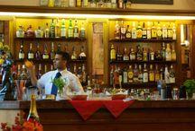 """Cafes con encanto de Florencia. / Cafes, bares, """"fiaschetterie"""" de Florencia."""