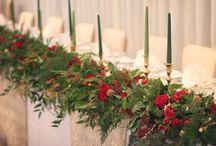 Winter wedding flowers by JennyFleur