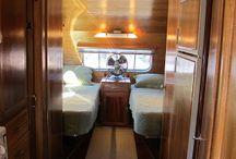 Air-stream Camper trailer