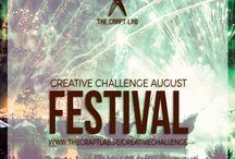Festival / Join The Craft Lab on a creative challenge! Are you spending too much time in front of the computer and want to get in touch with your creative side? We would love it if you joined us our 12-month creative challenge! We will post a theme each month and you can participate using whichever discipline you choose.