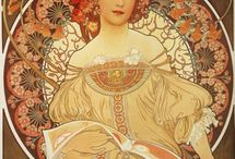 Art Nouveau / Images representative of my favorite period in the history of western art. / by Jini Manard