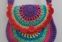 cartera crochet