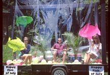Floating / Parade Float Ideas