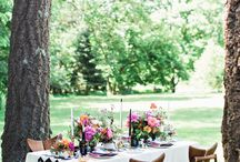 Colorful & Eclectic Styled Shoot at Hasbrouck House