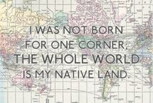 World Citizen / How blessed we are to be able to travel. I'll offset flights, but I'm not staying on Mud Isle forever.