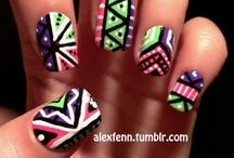 tribals nails