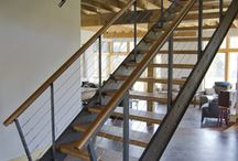 concrete + wood {new house ideas}