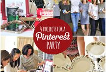 Pinterest party ideas / This board is for ideas for us to do on Friday nights. You pick an item, bring your stuff and a snack and we will craft together. Add friends if you want.