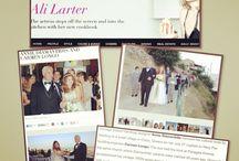 Annie Diamantidis' Island wedding and inspiration for her new minaudière collection! / Chicago Sun-Times/Splash features Annie's Island wedding!