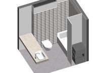 03.07.14-SPOTKANIE PODSUMOWANIE / ŁAZIENKA: ciemna ściana / blat z szufladami+ przestrzeń otwarta pod spodem / przestrzeń na środki czystości w szafie przy pralce / dodatkowa przestrzeń: szafki przy ścianie i szafki a la pawlacz / lustra na suwnicy / ciemny żyrandol / kafle: białe fazowane+ szare casaldgrande padane szare KUCHNIA: szare fronty ikea dół / białe fronty gówa / blat dąb bielony / piekarnik w zabudowie niskiej / ociekacz schowany
