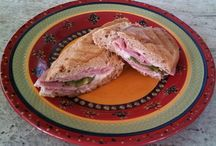 Various panini and sandwich recipes