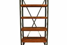 Mozilya Kitaplık Modelleri / Doğal Ahşap Kitaplık  wood