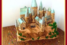 Incredible Castle Cakes /  From the pages of fairy tales, to the sweetest baby shower cakes. These castle cakes are daring, cute and inspiring!  #castle #fairy-tale #fairy #hogwarts #dragon #cakecentral