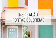 Colorfull doors