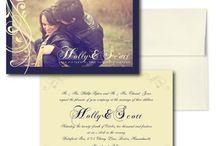 Wedding Stationary / by Stacy Romanyk
