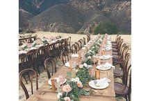 Wedding Dinner Outside
