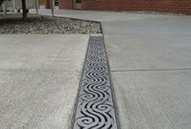 Solving Drainage Problems / Ideas to solve your drainage problems.  Both practical and decorative drain solutions.