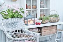 Buiten en tuin decoratie