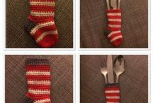Christmas Crochet / Hæklerier til jul / Hæklerier - Hæklet - Hækling - Baby - Crochet - Blanket - Tæppe - Babytæppe -