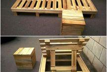 Palety, dřevo...