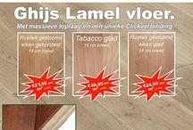 De Splinter houten vloeren / De Splinter vloeren outlet