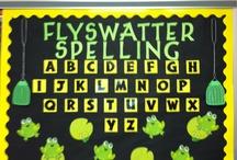 school.bulletinboards.languagearts / by Tara Renee Sumner
