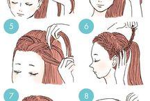 Pasos para hacer peinados