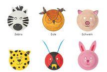 Karneval, Fasching, Masken / Karneval, Fasching, Masken - Ideen zum Selbermachen