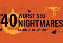 SEO - Infografik tentang SEO / Tips seputar Search Engine Optimization alias SEO.