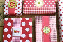Balení dárků / jak zabalit dárky