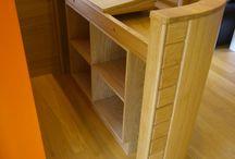 Records shelf